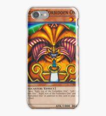 Exodia The Forbidden One iPhone Case/Skin