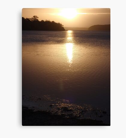 Lake Macquarie Sunset Canvas Print