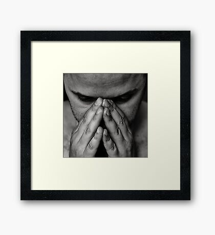 Don't talk to strangers Framed Print
