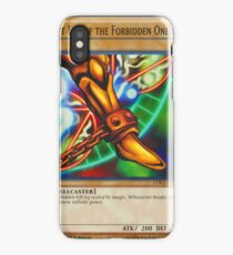 Left Leg Of The Forbidden One iPhone Case/Skin