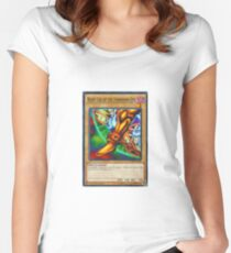 Right Leg Of The Forbidden One Women's Fitted Scoop T-Shirt