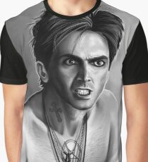 Angry Peter Vincent David Tennant Fright Night Graphic T-Shirt
