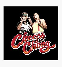 Cheech & Chong Photographic Print
