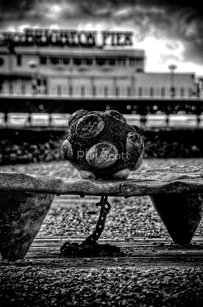 Ball and chain by Phil Scott