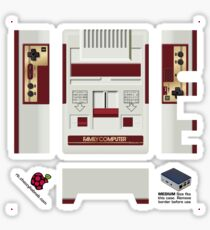 Nintendo Famicom Skin for Flirc case [Get the MEDIUM size] Sticker