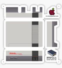 Nintendo Entertainment System Skin for Flirc case [Get the MEDIUM size] Sticker