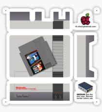 Nintendo Entertainment System + Mario & Duck Hunt Flirc [Get the MEDIUM size] Sticker