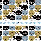 Cat Lady Pattern by elledeegee