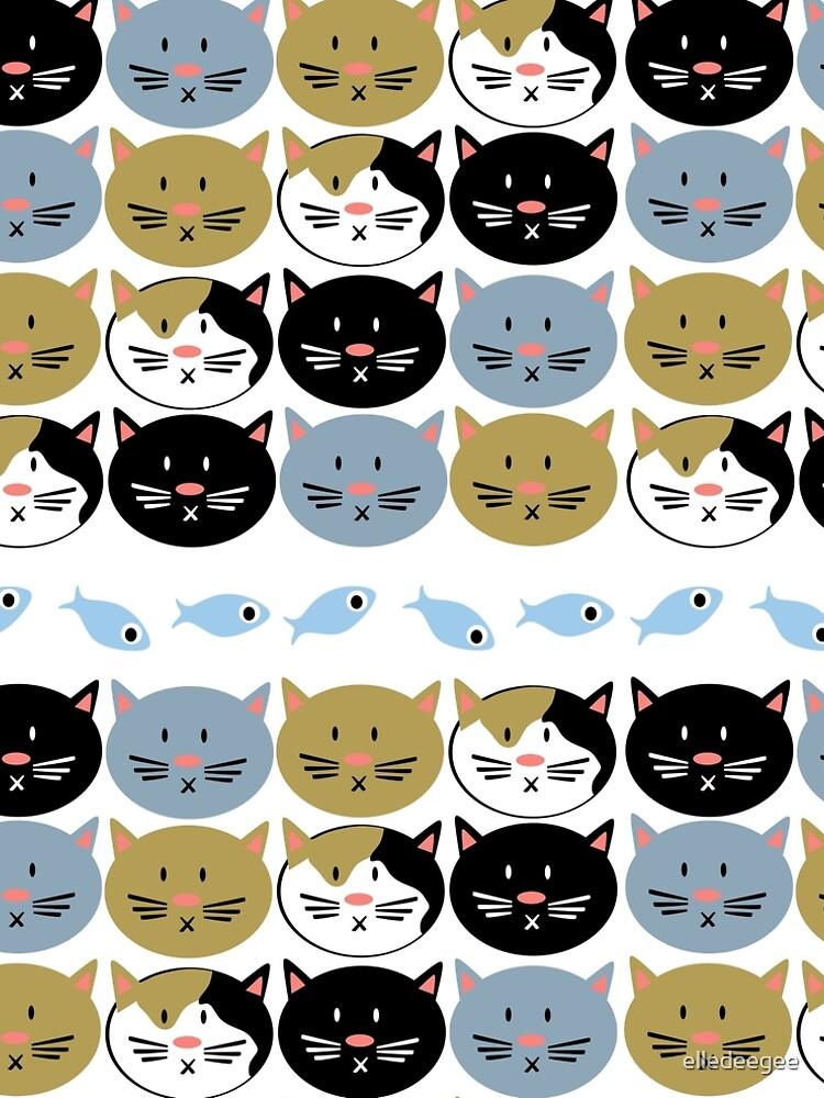 Cat Lady Pattern by elledeegee