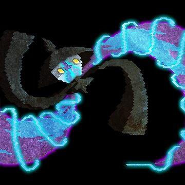pokemon lampent by cavia