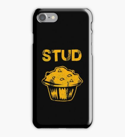 Stud Muffin Funny iPhone Case/Skin
