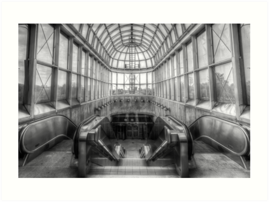 Yorkdale Subway Station 2 by John Velocci