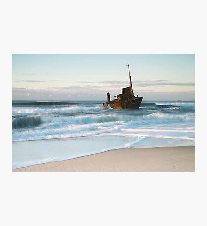 The Wreck of the Sygna - Stockton Beach, NSW Photographic Print
