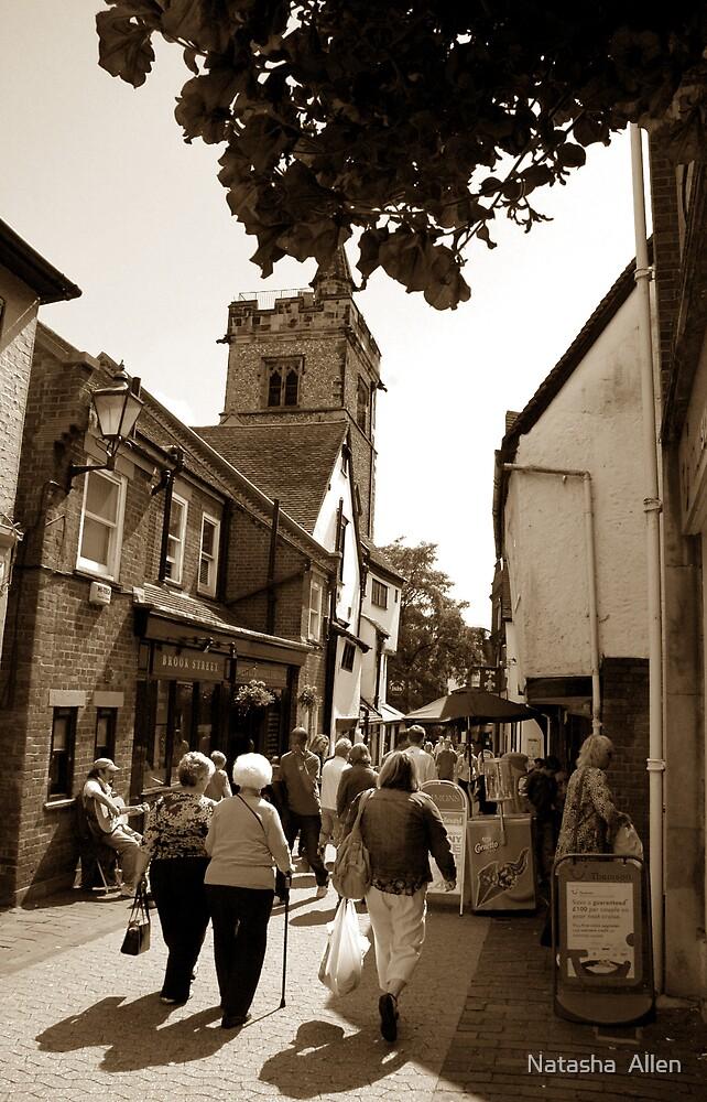 St.Albans Market Scene by Natasha  Allen