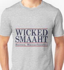 Wicked Smaaht Boston Bar Unisex T-Shirt