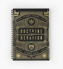 Doctrine and Devotion Spiral Notebook