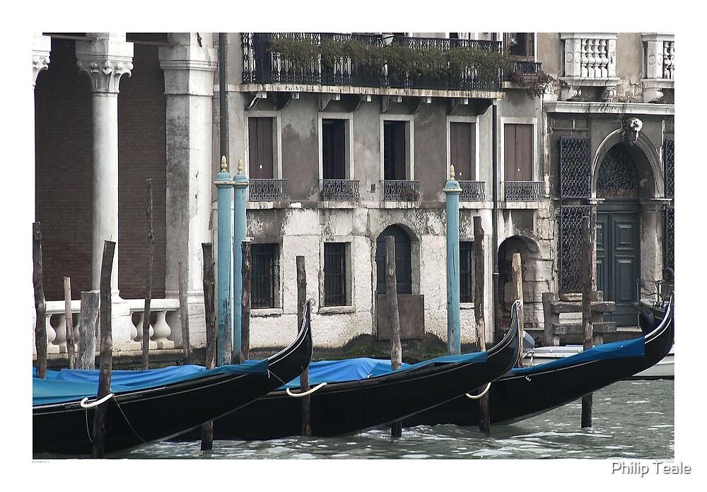 Gondolas by Philip Teale