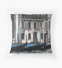 Gondolas Throw Pillow