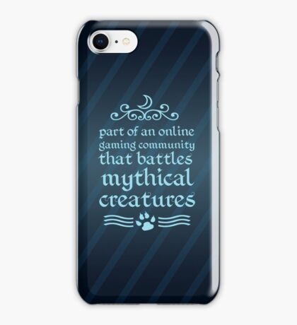 Mythical Creatures II iPhone Case/Skin