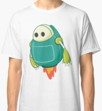 Funny & Cute Retro Futurism Vintage Toy Robot Design for men, women and kids Classic T-Shirt