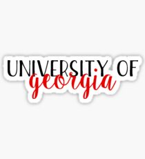 University of Georgia - Style 2 Sticker