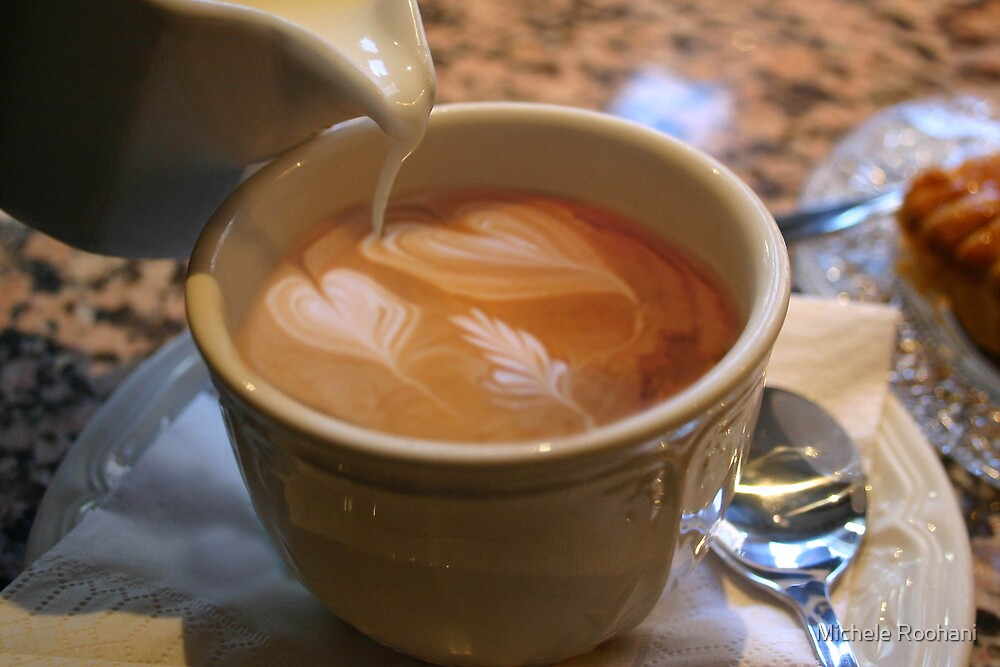 hearts in my coffee by Michele Roohani