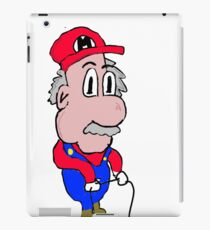 Old Mario iPad Case/Skin