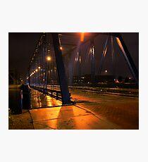 6th St. Historical Bridge Photographic Print