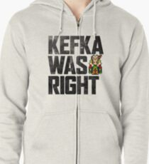 Kefka Was Right Zipped Hoodie