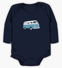 Bay Window Campervan Basic Colours (see description) One Piece - Long Sleeve