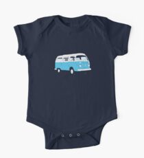 Bay Window Campervan Basic Colours (please see notes) One Piece - Short Sleeve