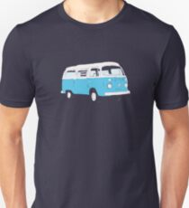 Bay Window Campervan Basic Colours (see description) Unisex T-Shirt