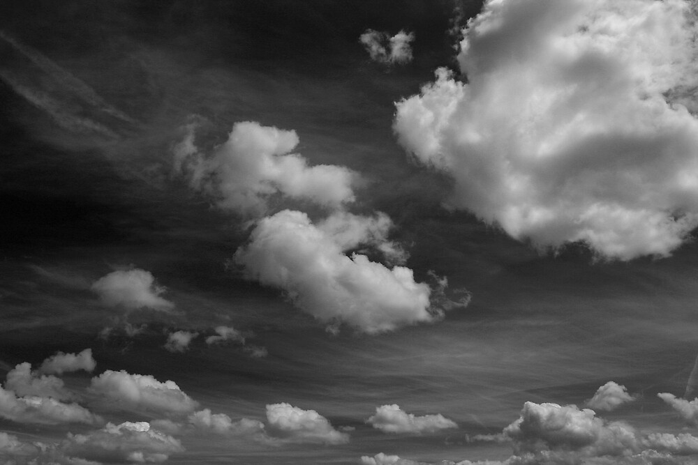 Messy Skies by Dave Pearson