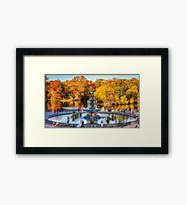 The Bethesda Fountain Framed Print
