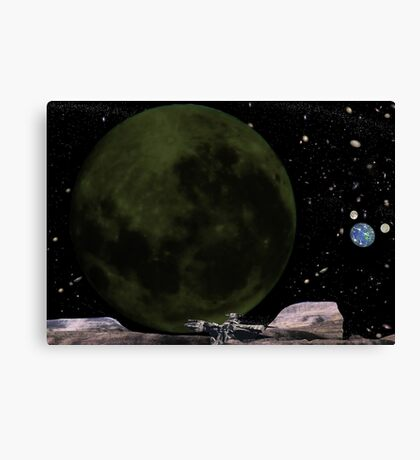 Collision Course. Canvas Print