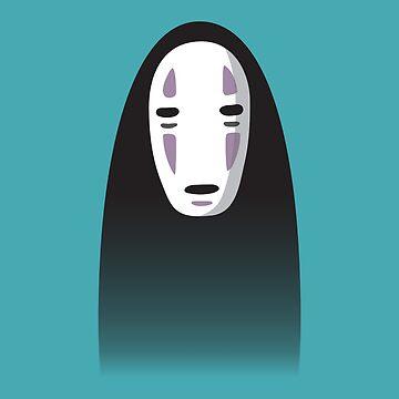 No-Face by polmurphyartist