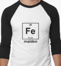 Bestseller: Iron Maiden Baseballshirt für Männer