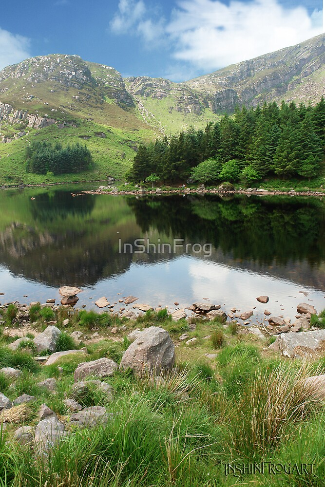 Lough Caum by InShinFrog