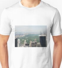 Hazy Central Park from Top of the Rock Unisex T-Shirt