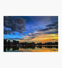 A Tranquil Summers Evening Photographic Print