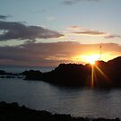 Portpatrick Sunset by Martin Campbell