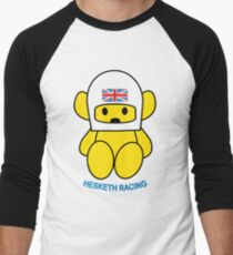Hesketh Bear Men's Baseball ¾ T-Shirt