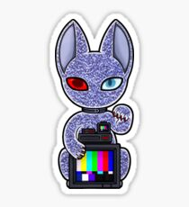 Wrong Neko: Television Sticker