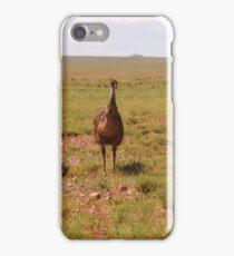 2 Emus in outback Australia iPhone Case/Skin