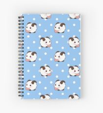 Poros (Blue) Spiral Notebook