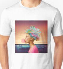 Shark and gum Unisex T-Shirt