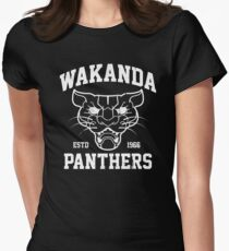 Wakanda Panthers Women's Fitted T-Shirt