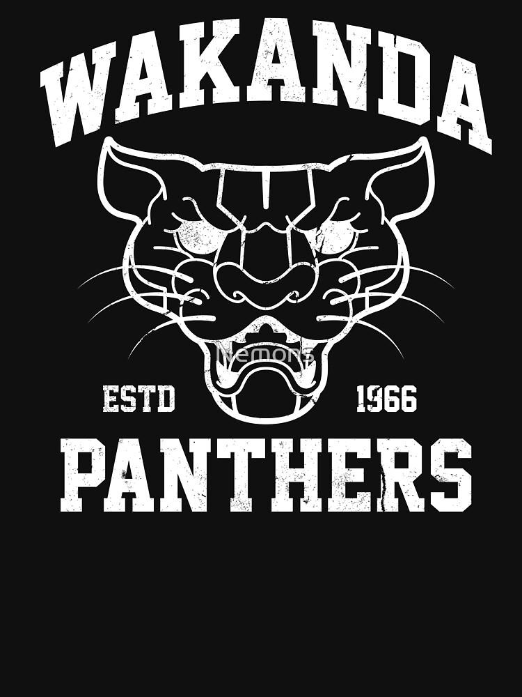 Wakanda Panther von Nemons