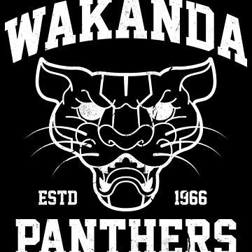 Wakanda Panthers by Nemons