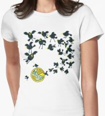 Baked in a pie Women's Fitted T-Shirt